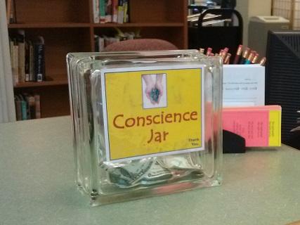 Conscience Jar