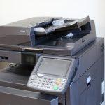 grey photocopier