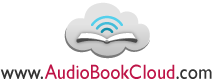 logo of book with cloud